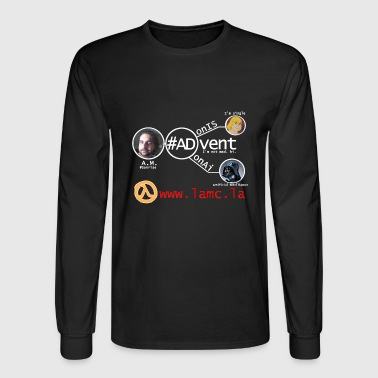 #ADvent, the Second Coming in black (long) - Men's Long Sleeve T-Shirt