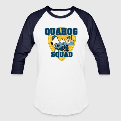 Family Guy Quahog Squad  - Baseball T-Shirt