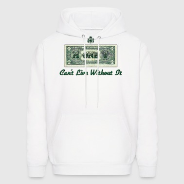 Money Mens Hooded Sweatshirt - Men's Hoodie