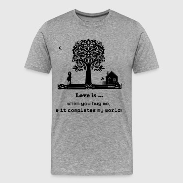 Love Tree - Men's Premium T-Shirt
