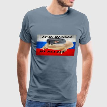 It is wednesday my dudes RUSSIA - Men's Premium T-Shirt