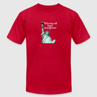 Legal Immigration - Men's T-Shirt by American Apparel