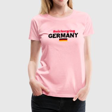 WOMEN T-SHIRT NURBURGRING - Women's Premium T-Shirt