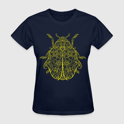 Dicebird yellow Dicebug - Women's T-Shirt