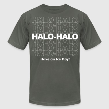 Halo-Halo - Have an Ice Day! Men's T-Shirt - Men's T-Shirt by American Apparel