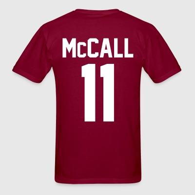 Scott McCall Lacrosse Shirt - TEEN WOLF - Men's T-Shirt