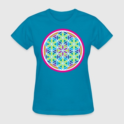 Women's Flower of life shirt - Women's T-Shirt