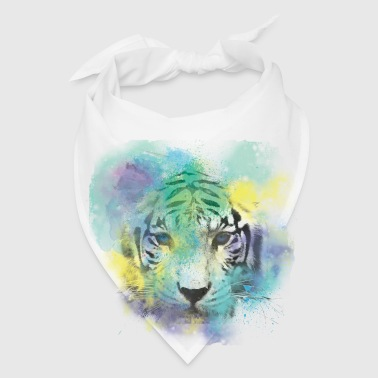 Abstract Tiger - Bandana