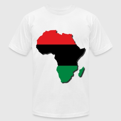 LocStar Revolution RBG Africa t-shirt - Men's T-Shirt by American Apparel