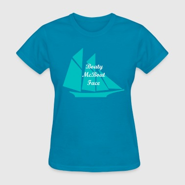 Boaty McBoat Face - Women's T-Shirt