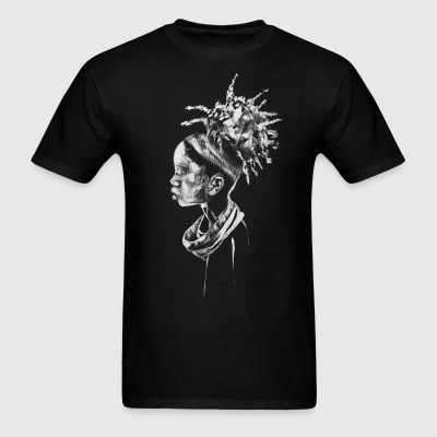Black Girl Tee - Men's T-Shirt