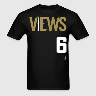 SG VIEWS from the 6 Tee - Gold/White - Men's T-Shirt