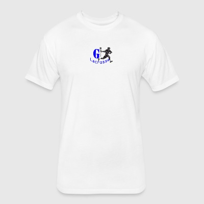 G Lacrosse - Fitted Cotton/Poly T-Shirt by Next Level