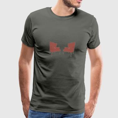 1st EDITION 2 Chairs T-Shirt - Men's Premium T-Shirt