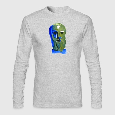 Blue Zeus - Men's Long Sleeve T-Shirt by Next Level
