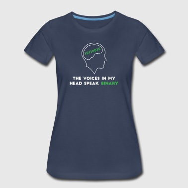 The voices in my head - Women's Premium T-Shirt