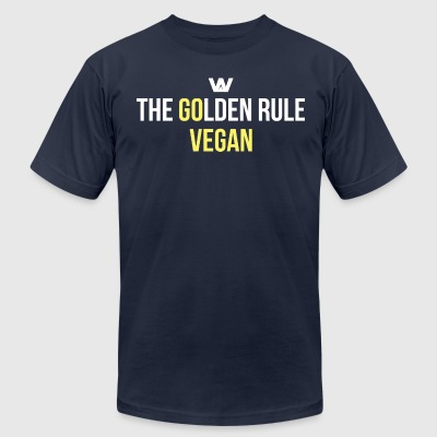 The Golden Rule  - Men's T-Shirt by American Apparel