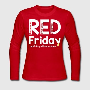 RED Friday Long sleeve Shirt - Women's Long Sleeve Jersey T-Shirt