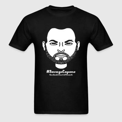 Savage Capone Bitstrip - Men's T-Shirt