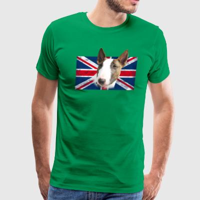 Bull Terrier UK grunge T-Shirts - Men's Premium T-Shirt