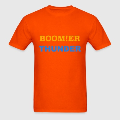 BOOM!ER THUNDER, Y'ALL KNOW - Men's T-Shirt