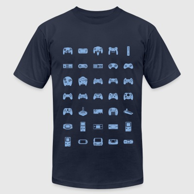 Controller Collective - Men's T-Shirt by American Apparel