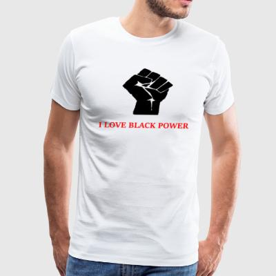 Black Power - Men's Premium T-Shirt