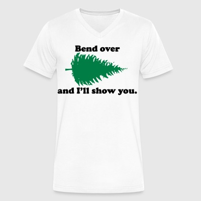 Bend T-Shirts - Men's V-Neck T-Shirt by Canvas