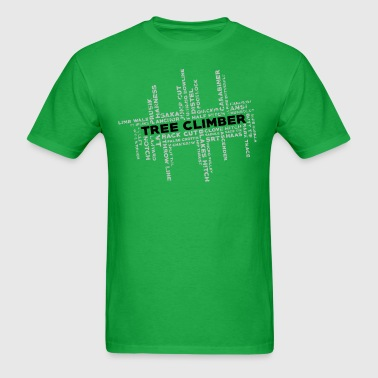 Tree Climber Thoughts - Men's T-Shirt