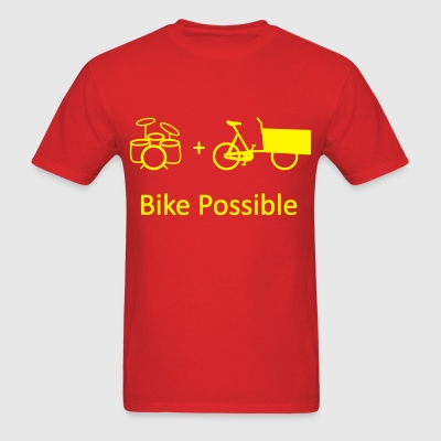 Drums Bike Possible T-Shirts - Men's T-Shirt