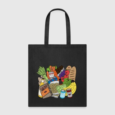 Funny food Bags & backpacks - Tote Bag