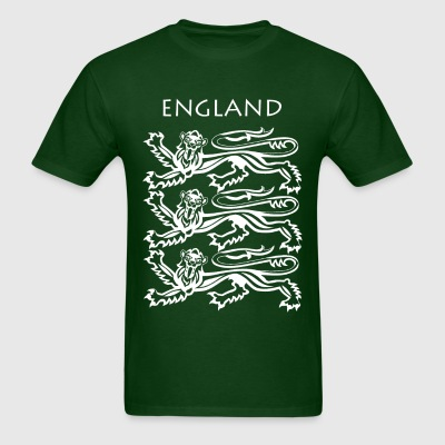 England Coat of Arms White - Men's T-Shirt