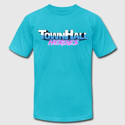TownHall Heroes - Men's T-Shirt by American Apparel