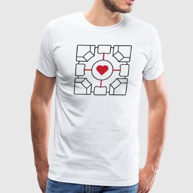 Companion Cube - Men's Premium T-Shirt