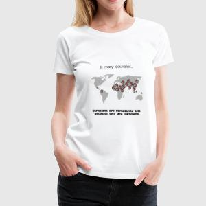 Remember your persecuted family - Women's Premium T-Shirt