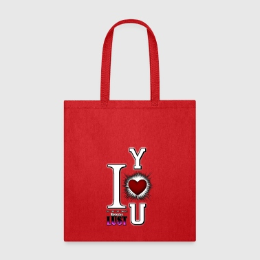 I Love You or Mindless Lust Tote Bag - Tote Bag