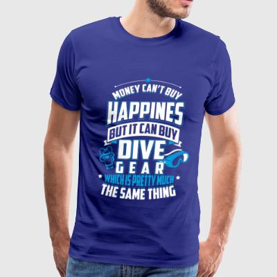 MONEY CAN'T BUY HAPPINES  - Men's Premium T-Shirt