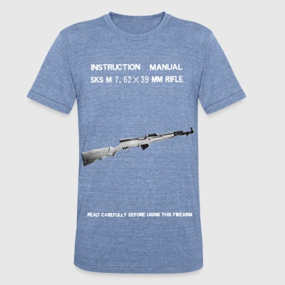 Norinco Vintage SKS Manual T-shirt - Unisex Tri-Blend T-Shirt by American Apparel