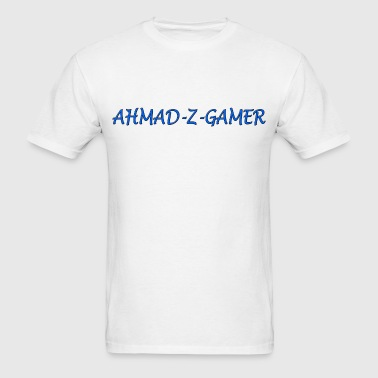 Ahmad-Z-Gamer T-Shirt White - Men's T-Shirt
