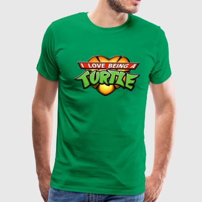 I Love Being A Turtle! T-Shirts - Men's Premium T-Shirt