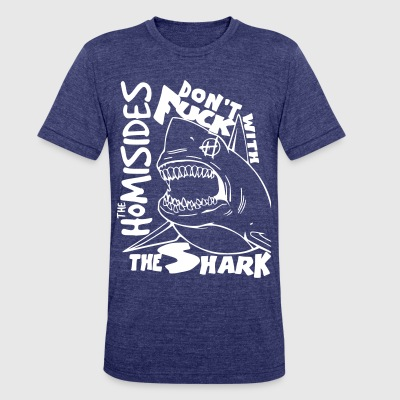 Shark Attack T-Shirts - Unisex Tri-Blend T-Shirt by American Apparel
