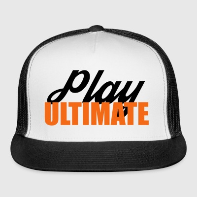 Ultimate Frisbee Hat: Play Ultimate - Trucker Cap