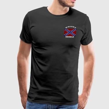 Whisky Rebels Member Tee - Men's Premium T-Shirt