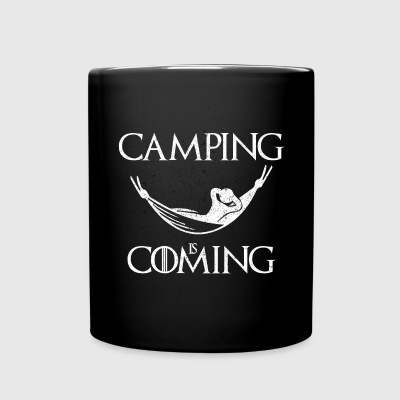 Camping is Coming - Full Color Mug
