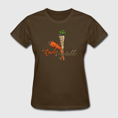 Rude Vegetable - Women's T-Shirt