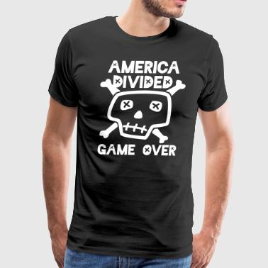 America Divided Game Over - Men's Premium T-Shirt