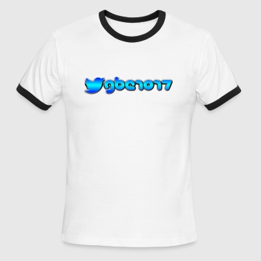 Official GBE1017 Twitter logo Shirt - Men's Ringer T-Shirt
