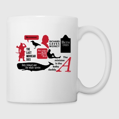 Spoilers Early American black Mugs & Drinkware - Coffee/Tea Mug