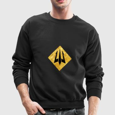 Golden Trident - Crewneck Sweatshirt