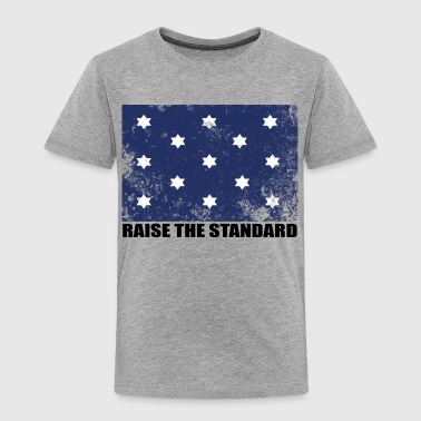 George Washington Flag - Raise The Standard - Toddler Premium T-Shirt